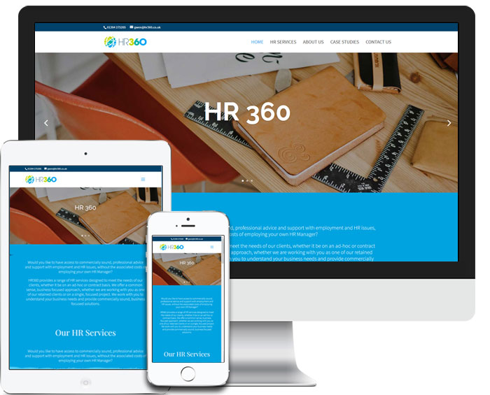 HR360 Website Screenshot