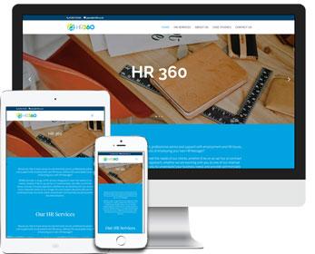HR 360 Website Design